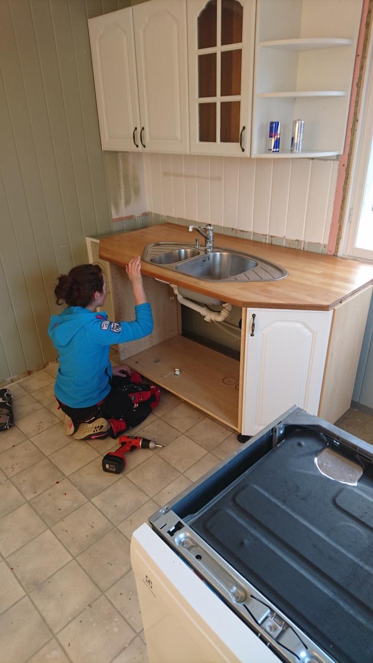 Att bygga ett kök. – SmÃ¥bruk og store drømmer